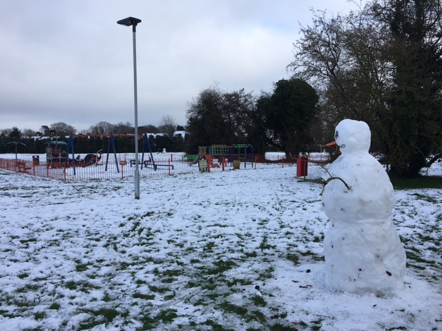 Orchard Rec in the Snow